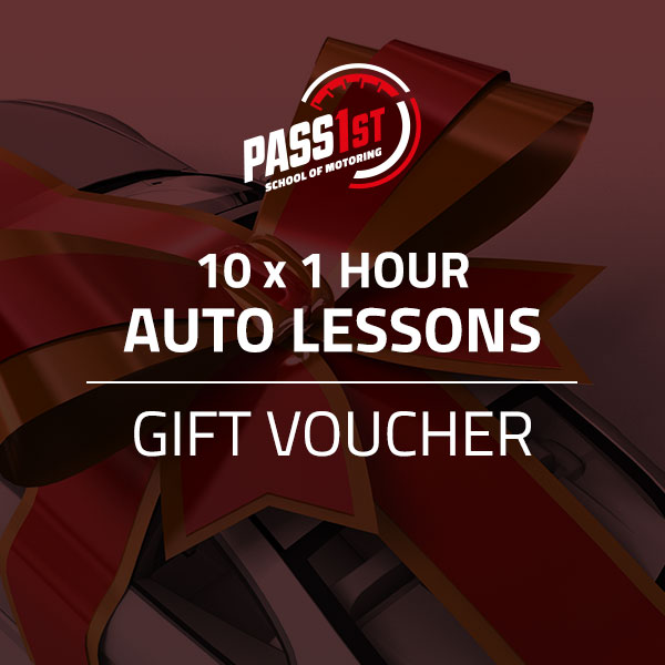 10x 1 Hour Automatic Driving Lessons Gift Voucher Pass 1st School Of Motoring